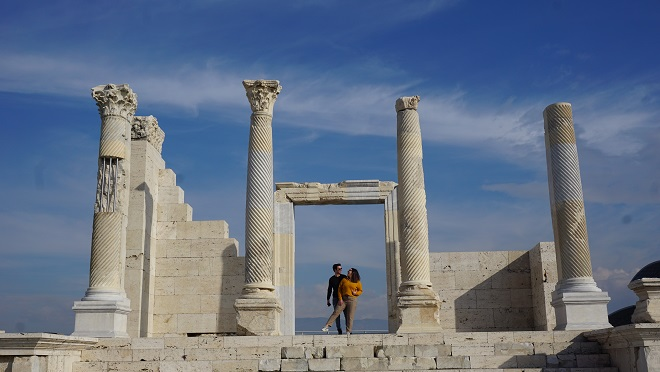 denizli gezilecek yerler denizli laodikeia antik kenti