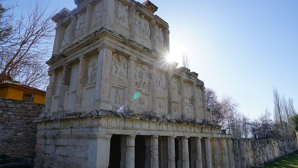 aydın Aphrodisias antik kenti