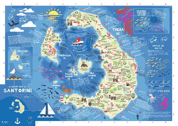 Santorini nerede ve nereye bağlı