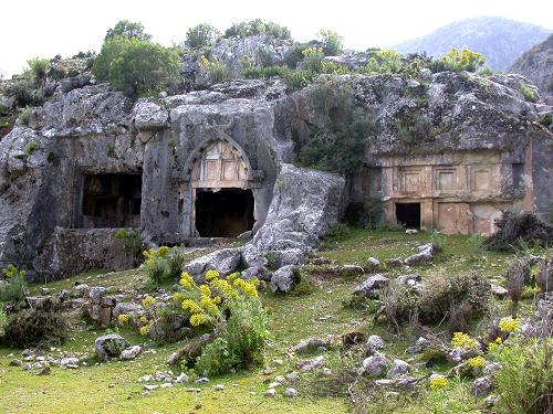 fethiye gezi rehberi pınara antik kenti