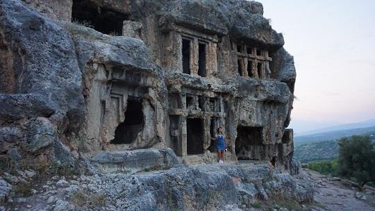 fethiye gezilecek yerler tlos antik kenti