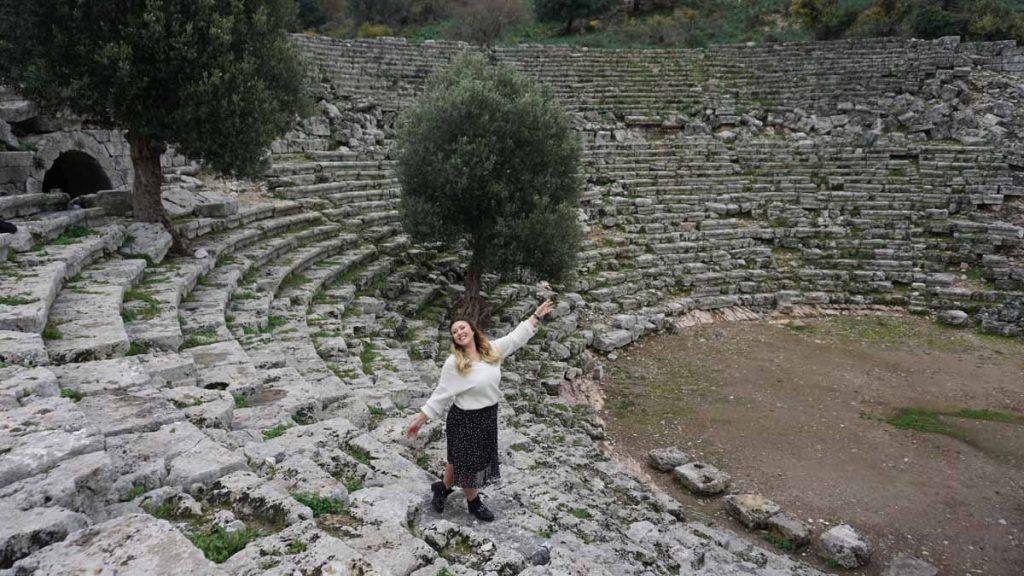 köyceğiz gezilecek yerler kaunos antik kenti