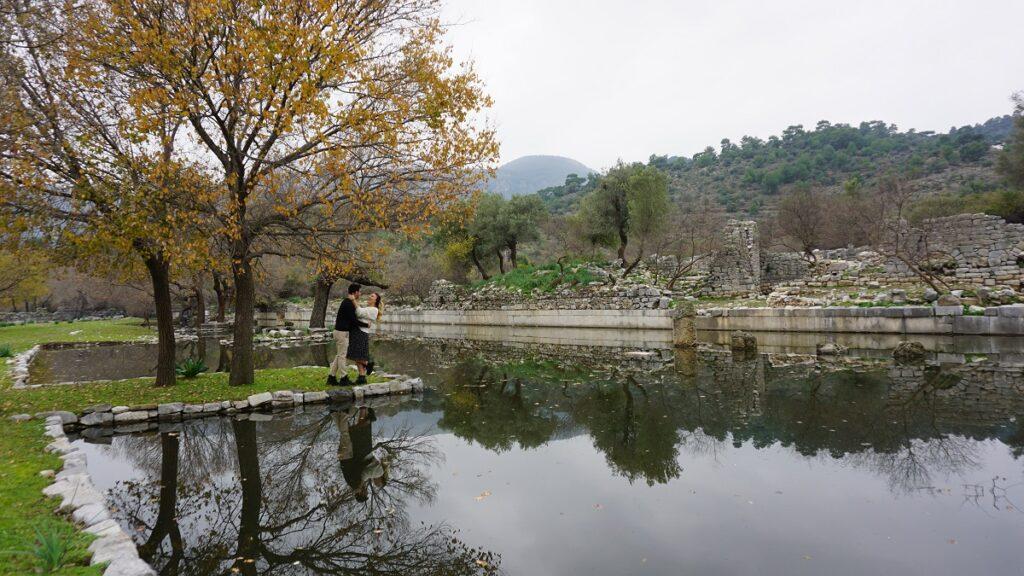 muğla antik kentleri kaunos antik kenti