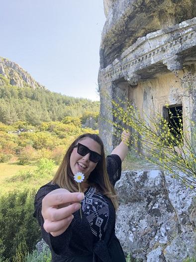 ula gezilecek tarihi yerler thera antik kenti