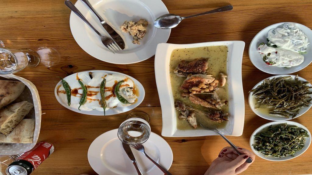 Ula yemek ekşili köy tavuğu