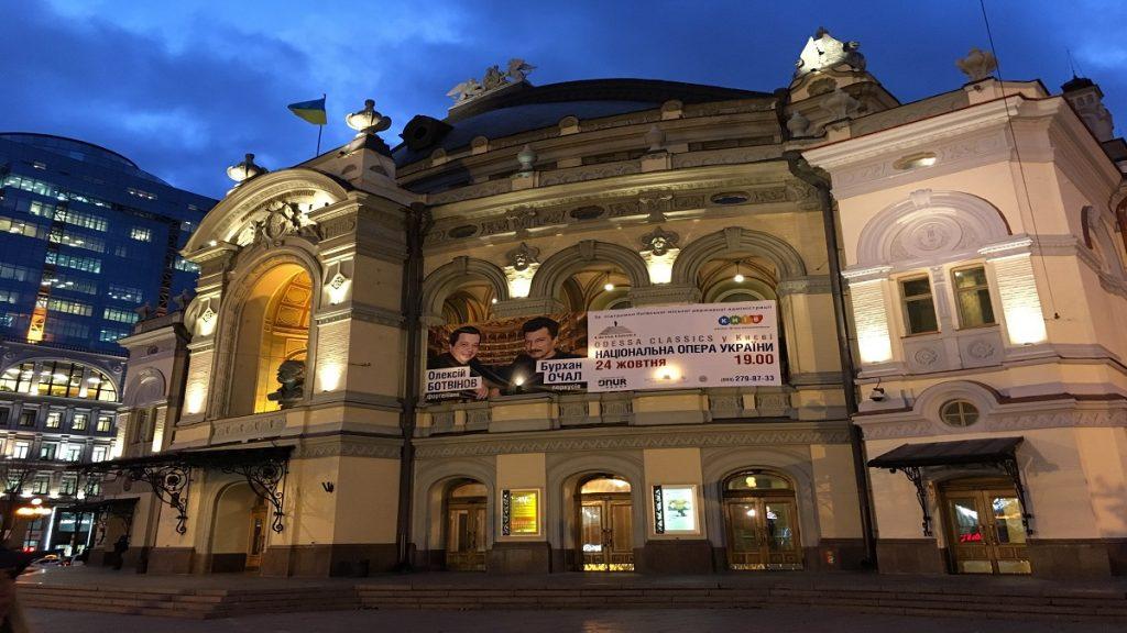 kiev opera binası