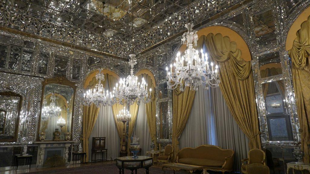 Gülistan sarayı ana salon