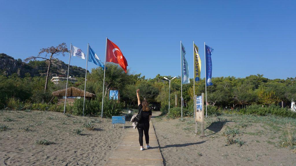 dalaman sarıgerme sarçed plajı