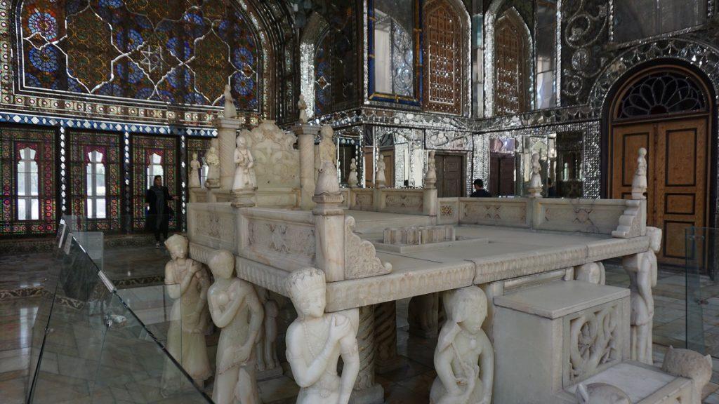 Gülistan Sarayı mermer salonu