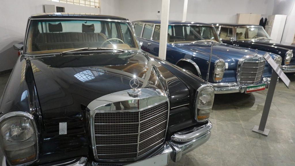 Tahran gezi rehberi royal cars museum