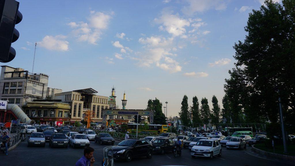 tahran gezi rehberi tecriş meydanı
