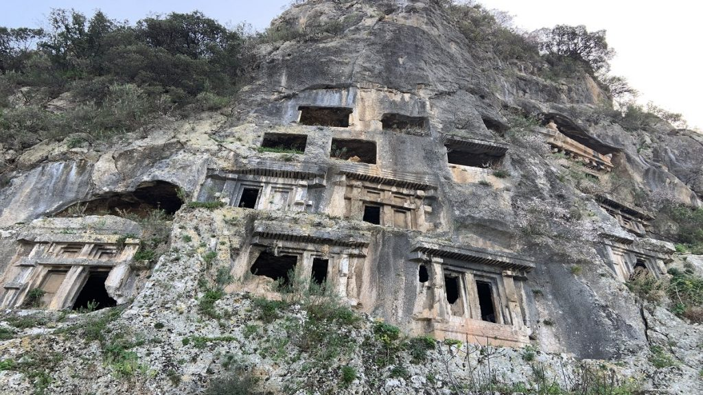 fethiye gezilecek yerler telmessos antik kenti