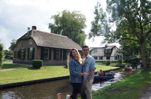 hollanda'nın masalsı köyü giethoorn