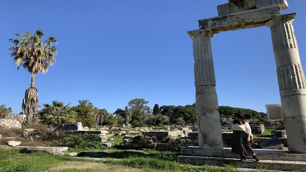 kos adası turları antik agora