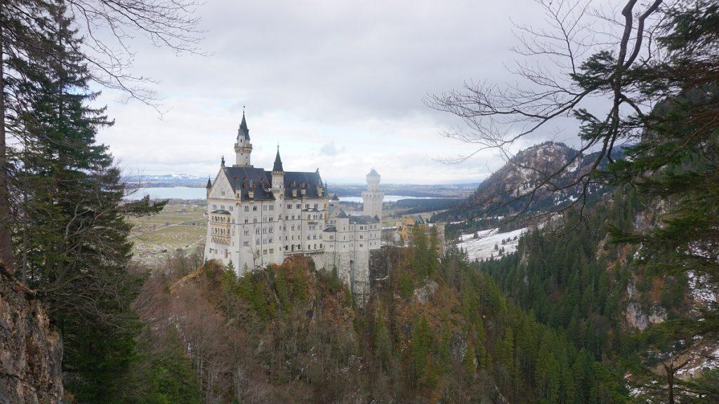 münih gezilecek yerler neuschwanstein kalesi