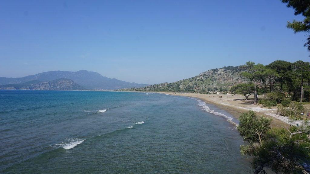 ortaca gezilecek yerler iztuzu plajı