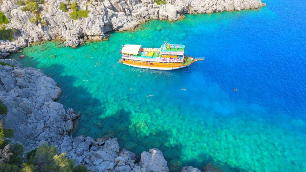 marmaris'te tekne turları