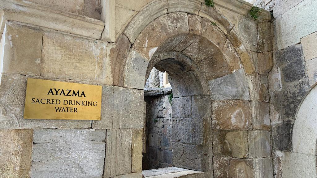 sümela manastırının bölümleri