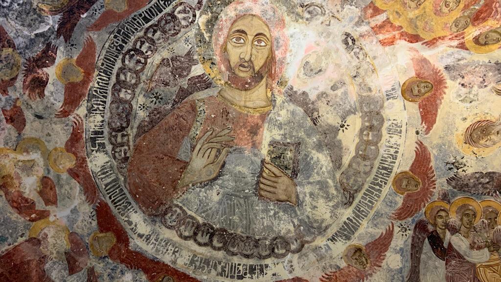 sümela manastırının içi