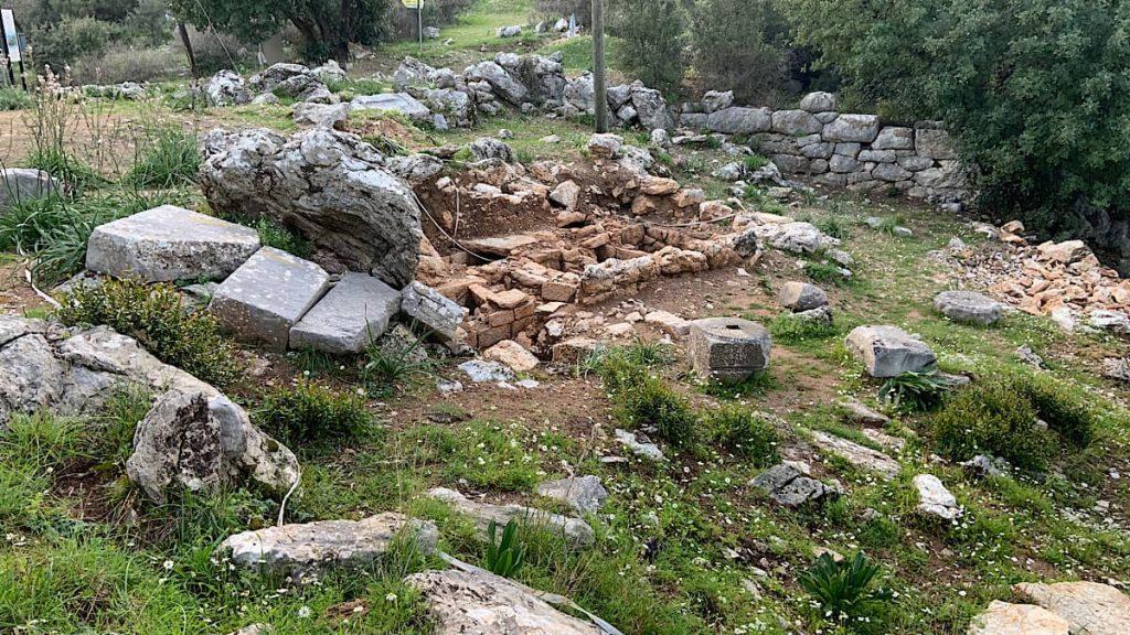marmaris amos antik kenti
