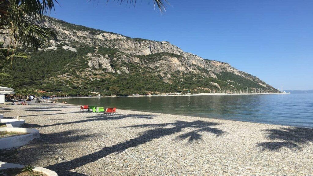 milas koyları ve plajları