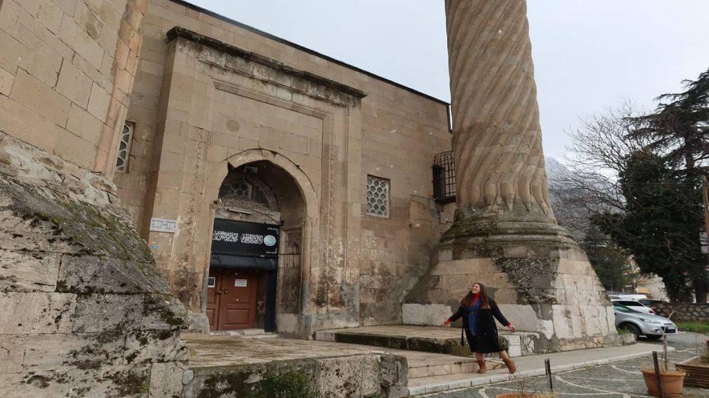 amasya burmalı minare camii