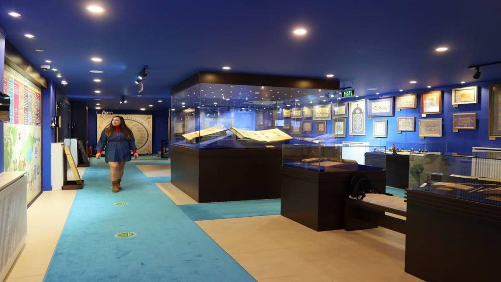 amasya gezilecek yerler hat müzesi