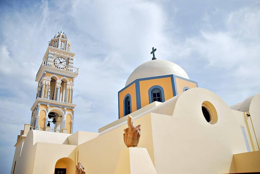 yunanistan santorini'de gezilecek yerler