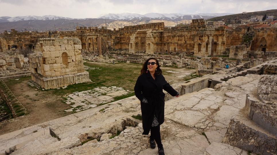 lübnan beyrut baalbek tapınaklar