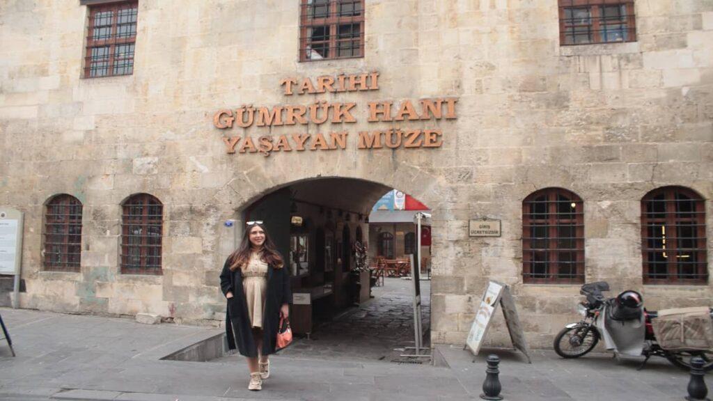 gaziantep tarihi gümrük hanı yaşayan müze