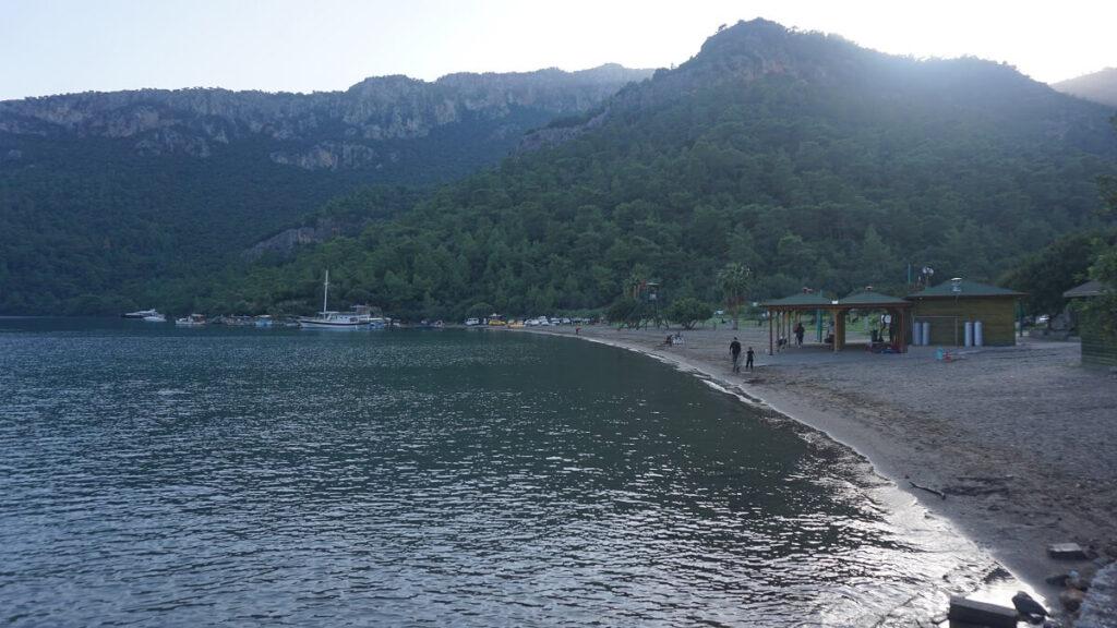 dalaman koyları ve plajları