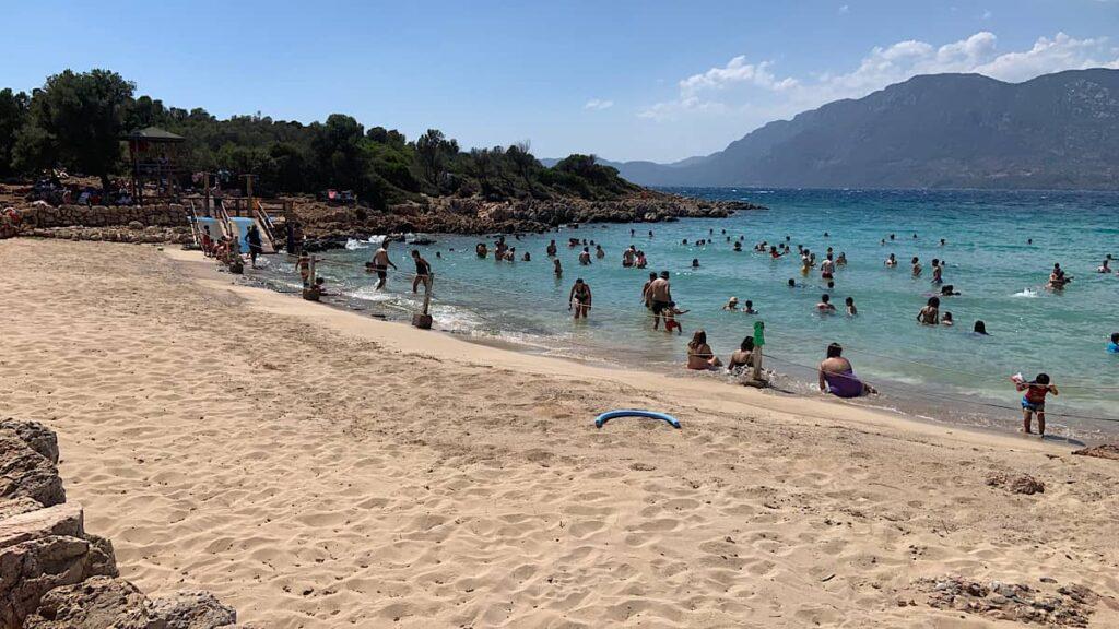 kleopatra plajı marmaris