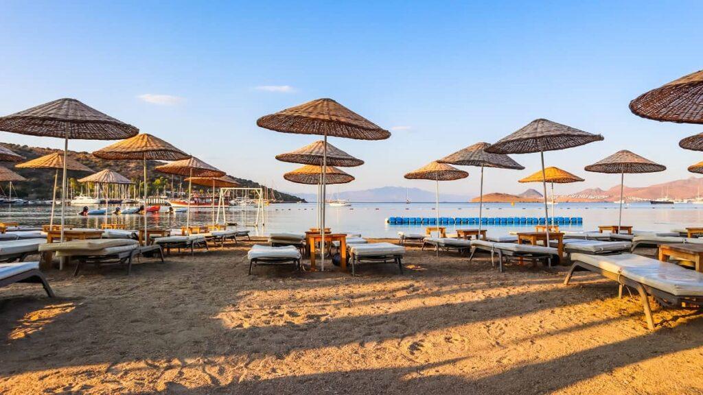bodrum bitez plajı